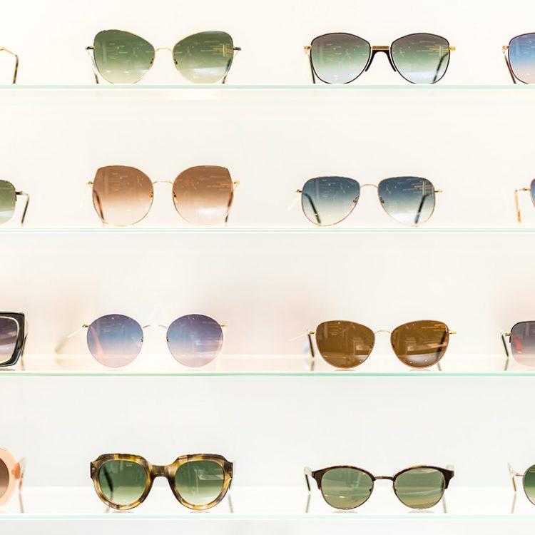 Sonnenbrillen mit unterschiedlicher Tönung
